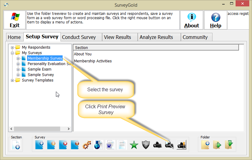 how to make a survey form in word
